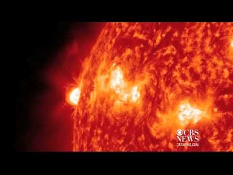 Watch: Biggest solar storm of the year