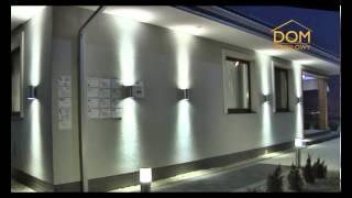 Spotline oświetlenie zewnętrzne dom modelowy