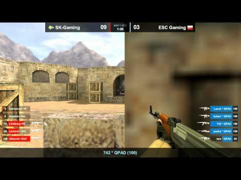 SK vs. ESC dust2 WCG 2011GF