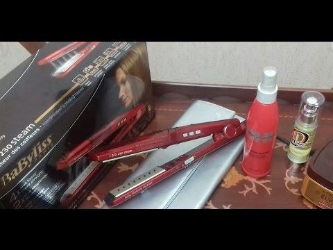 مكواة الشعر/بيبي ليس/والمنتجات المستخدمة  قبل وبعد استخدامها //jتعاون مع قناة أكلة ووصفة مع نور.