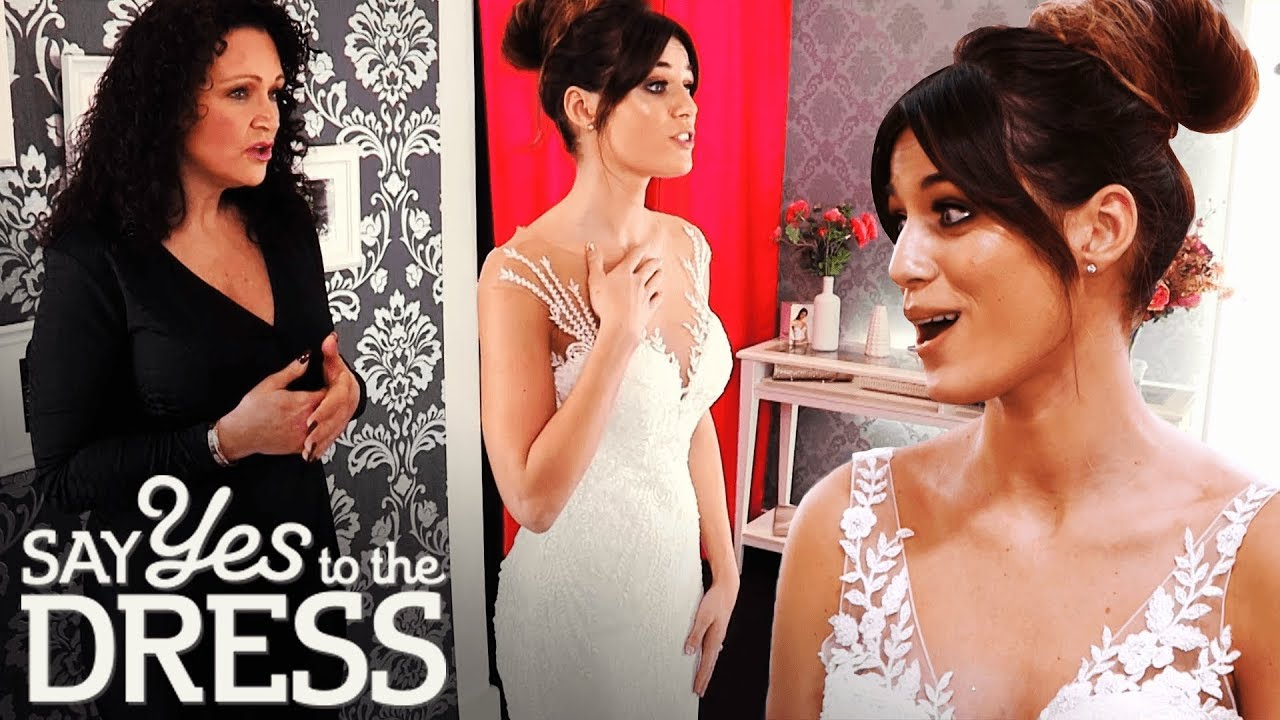 Bride Falls in Love With the Dress But Hates The Illusion Neckline! | Say Yes To The Dress UK