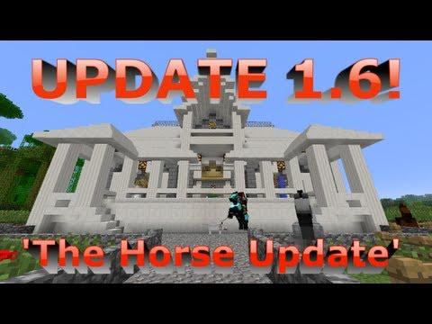 Minecraft Update 1.6 Features!