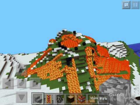 volcano seed minecraft pe