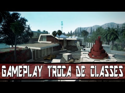 Gameplay BO2 - Trocando as Classes