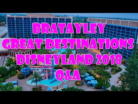 Bratayley Great Destinations Disneyland 2018 Q&A | Annie LeBlanc
