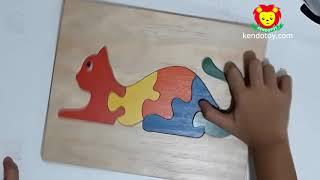 tranh ghép thú | tranh ghép con vật các loại khác nhau bằng gỗ