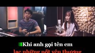 Karaoke | Mashup 31 Hit V-pop 2016 | Rôn Vinh x Thảo Phạm |
