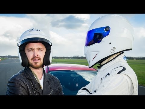 AARON PAUL Behind the Scenes On TOP GEAR in the Reasonably Priced Car - March 10 BBC AMERICA
