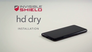 How To Install HD Dry - Samsung Galaxy S8 - Invisible Shield