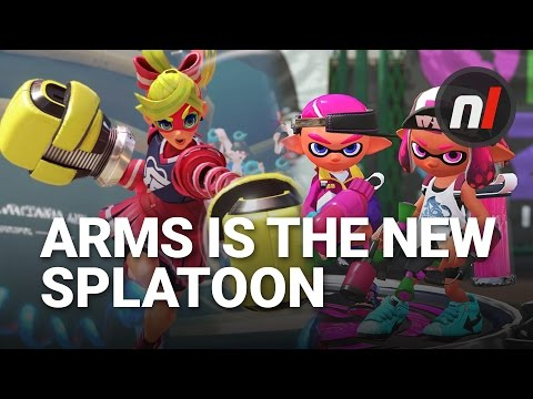 ARMS is the New Splatoon for Nintendo Switch Generation | Soapbox