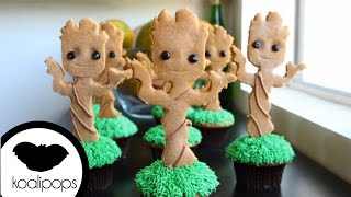 How to Make Groot Cupcakes   Become a Baking Rockstar