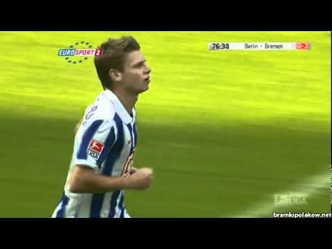 Łukasz Piszczek gol Hertha - Werder