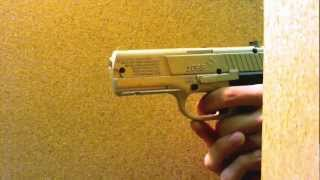 Air Pistol Test firing