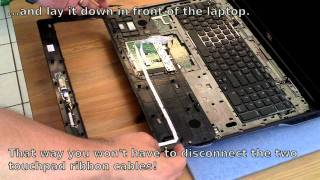 How to install a backlit keyboard on Dell XPS 17 L702X laptop