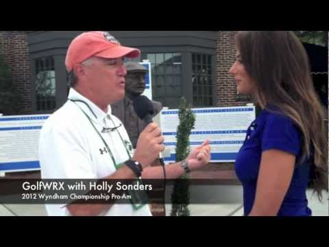GolfWRX: Holly Sonders at the Wyndham Championship Pro-Am to discuss What's in the Bag and more.