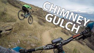 Riding On Black Ice in Chimney Gulch | Denver MTB