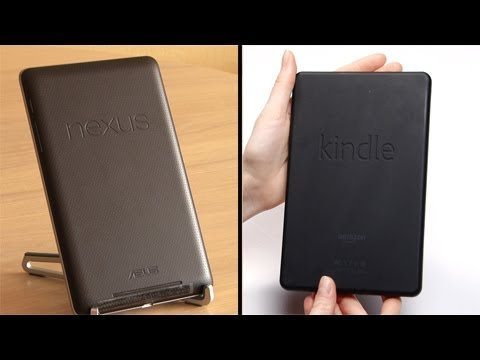 Nexus 7 vs Kindle Fire Test