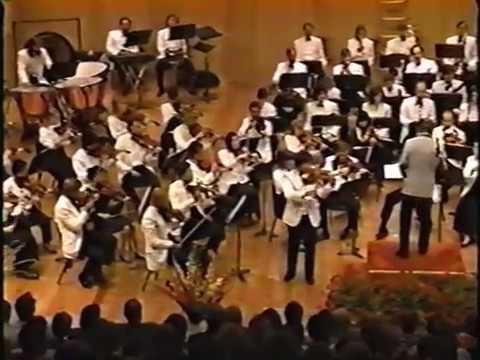 Chin Kim Glazunov Violin Concerto2 90-8-18 Grand Teton Music Festival Orchestra Ling Tung conducting