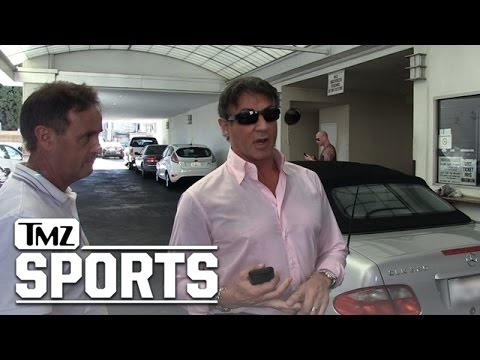 Sylvester Stallone -- Roberto Duran Kicked My Ass | TMZ Sports