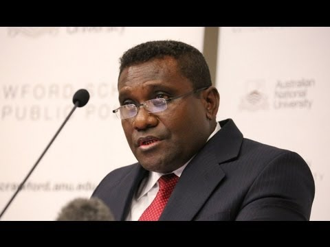 The Hon Gordon D. Lilo, Prime Minister of the Solomon Islands: The economy of the Solomon Islands