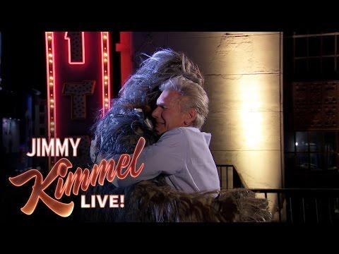 Harrison Ford salva del suicidio a Chewbacca