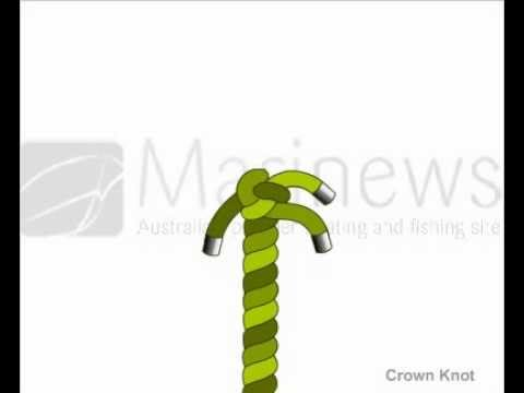 How to Tie Crown Knot