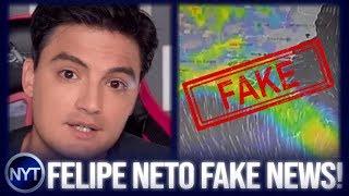 Felipe Neto gera PÂNICO no RJ, espalha FAKE NEWS e diz que robôs do Bolsonaro querem DESTRUI-LO