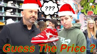 Guess The Price, I'll Buy It Challenge!!!!! (CHRISTMAS EDITION)