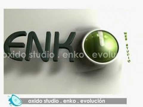 oxido studio . enko . evolución - logotipos 3d