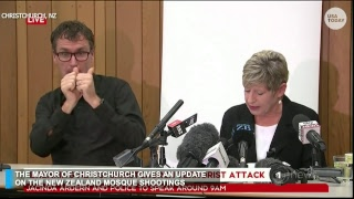 Christchurch Mayor and New Zealand Prime Minster provide shooting update