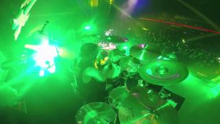 SLAYER Paul Bostaph - Necrophiliac (Drum-Cam Footage)