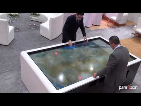 Saudi Commission for Tourism and Antiquities Paravision Multitouch - SCTA