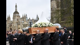 Professor Stephen Hawking's funeral held in Cambridge  | ITV News