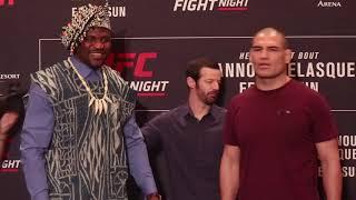 Cain Velasquez vs  Francis Ngannou - UFC on ESPN 1 Media Day