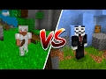 Hacker vs Pro in Minecraft Pocket Edition (Skywars Server)