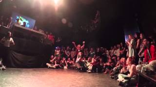 Dancehall international 2015 - 1/8 with Fraules (win) vs El Okence (France)