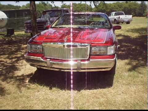 Joe Pool Lake Car Show (Texas Finest Lowrider Videos) .avi