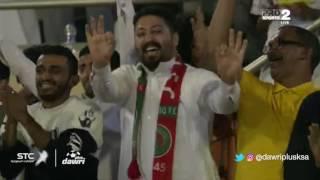 فرحة جماهير الإتفاق في لقاء الفيصلي في الجولة 10 من دوري جميل