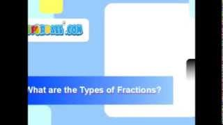 [What are the Types of Fractions?] Video