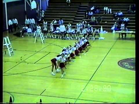 Valley High School (Las Vegas, NV) Drill Team Performance at Basketball Game on 02/28/1990