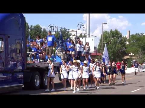 Central High School Colorado State Fair Parade  2013