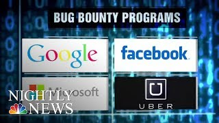 Hackers For Hire? Why Big Businesses Are Now Hiring Hackers | NBC Nightly News