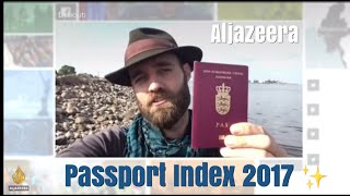 Quick appearance on Al Jazeera News Grid - the 2017 Passport Index