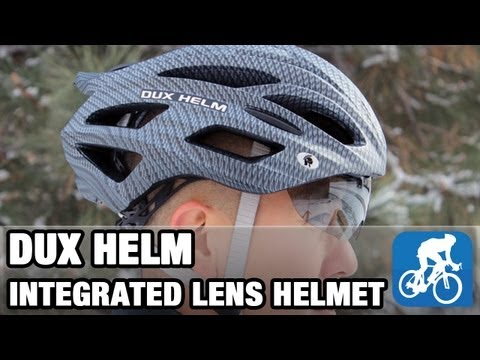 Dux Helm integrated lens helmet