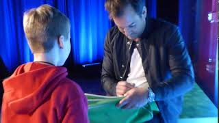 Me and Will Arnett at MIneCon Earth