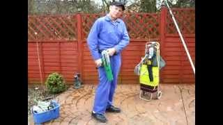 Window cleaning kit - Unger Belt System tips