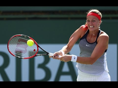 2016 BNP Paribas Open Round of 16 | Petra Kvitova vs Nicole Gibbs | WTA Highlights