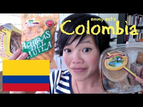 Emmy Eats Colombia - tasting Colombian snacks & sweets