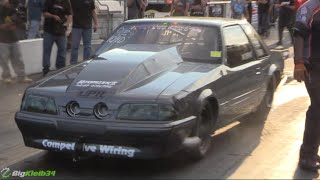 Nastiest Mustang Ever? Gnarly Fox Body Goes 200+MPH!!!