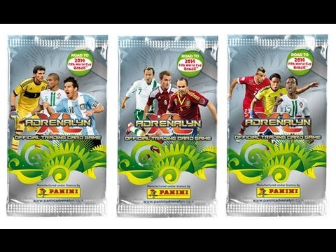 Opening BOOSTER BOX (international edition) panini ROAD TO WORLD CUP 2014 (part2/2)